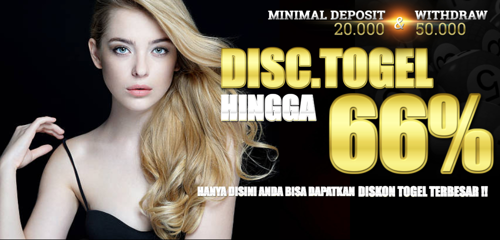 DISCOUNT TOGEL 66%